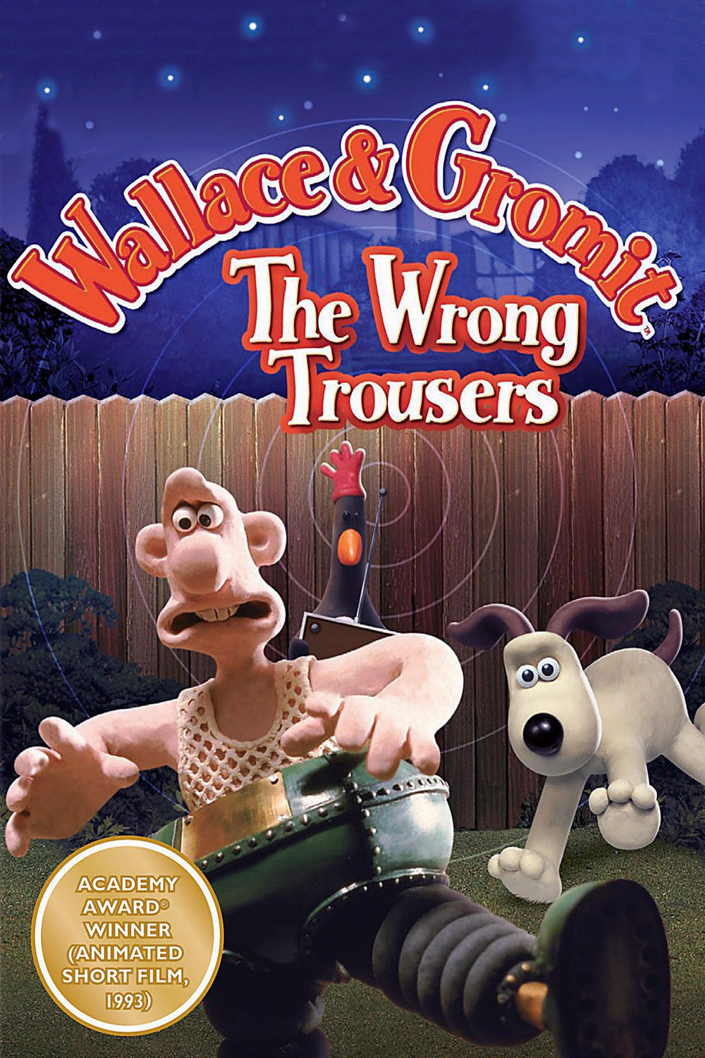 The Wrong Trousers (1993) BluRay 720p & 1080p