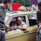 Bora Djordjevic, Milos Tanaskovic, and Radovan Vujovic in Sejtanov ratnik (2006)