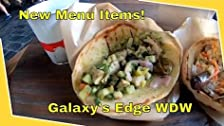 New Menu Items in Galaxy's Edge and Changed Menu Wording?