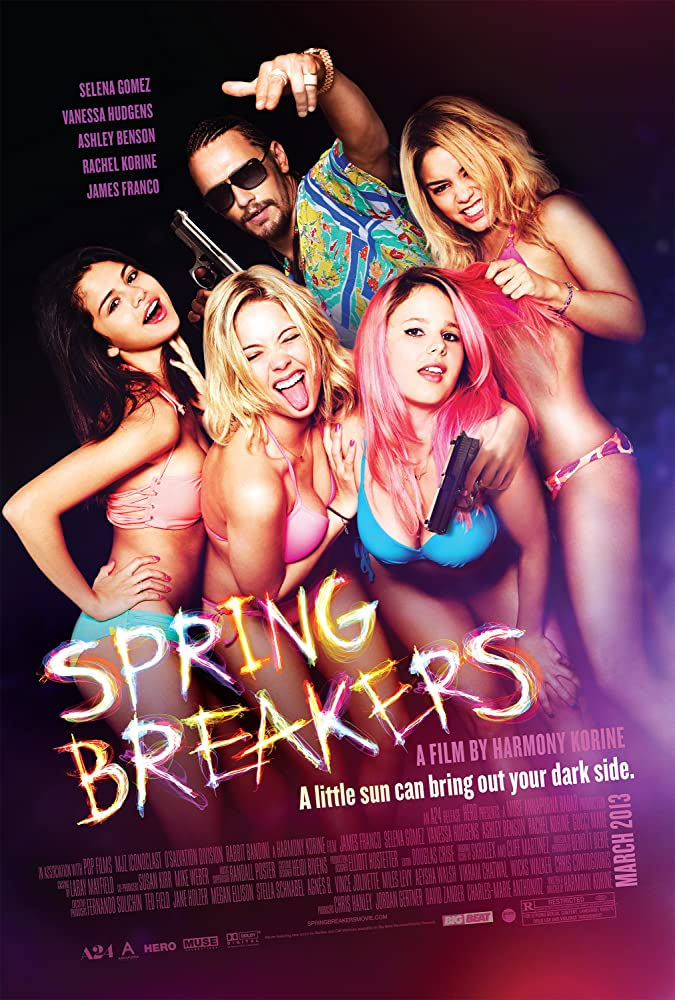 18+ Spring Breakers (2012) English 720p HDRip x264 750MB