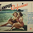 Betty Grable and Eleanore Whitney in Campus Confessions (1938)