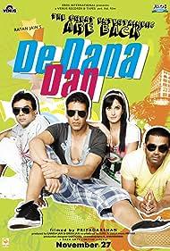 Akshay Kumar, Paresh Rawal, Sunil Shetty, and Katrina Kaif in De Dana Dan (2009)