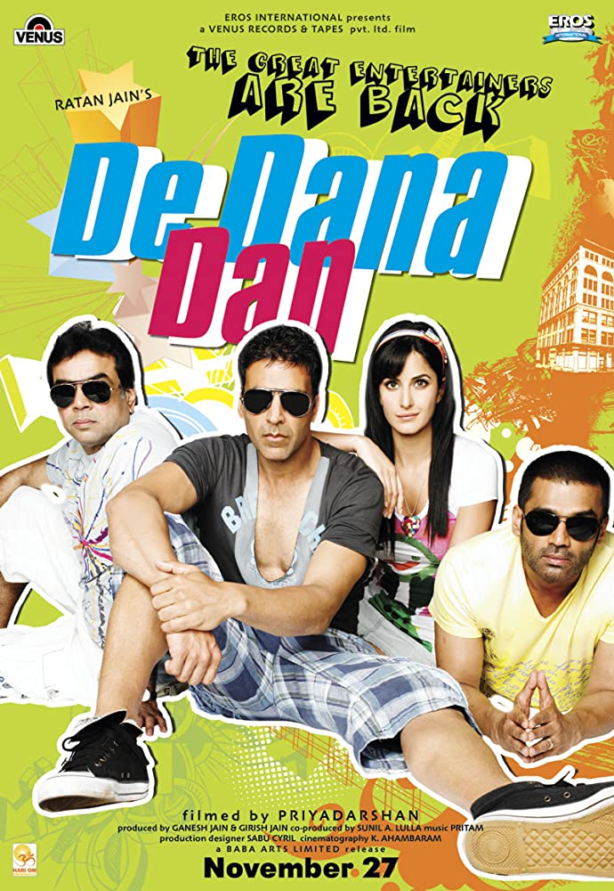 De Dana Dan 2009 Hindi Movie 545MB BluRay ESubs Download