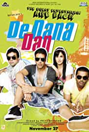 De Dana Dan | 2009 | 1 GB | 720p | DVDRIP | Hindi