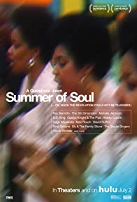 Primary photo for Summer of Soul (...Or, When the Revolution Could Not Be Televised)