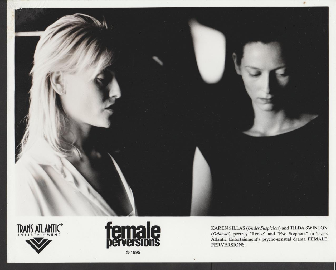 Karen Sillas and Tilda Swinton in Female Perversions (1996)