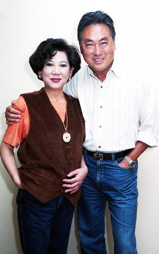 Ivy Ling Po and Han Chin