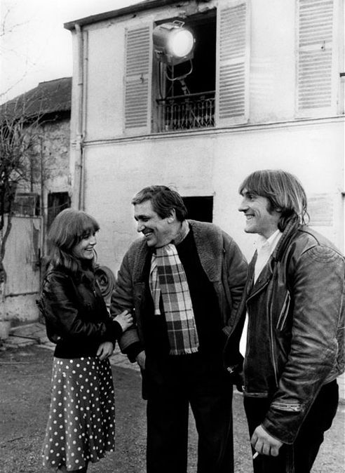 Gérard Depardieu, Isabelle Huppert, and Maurice Pialat in Loulou (1980)