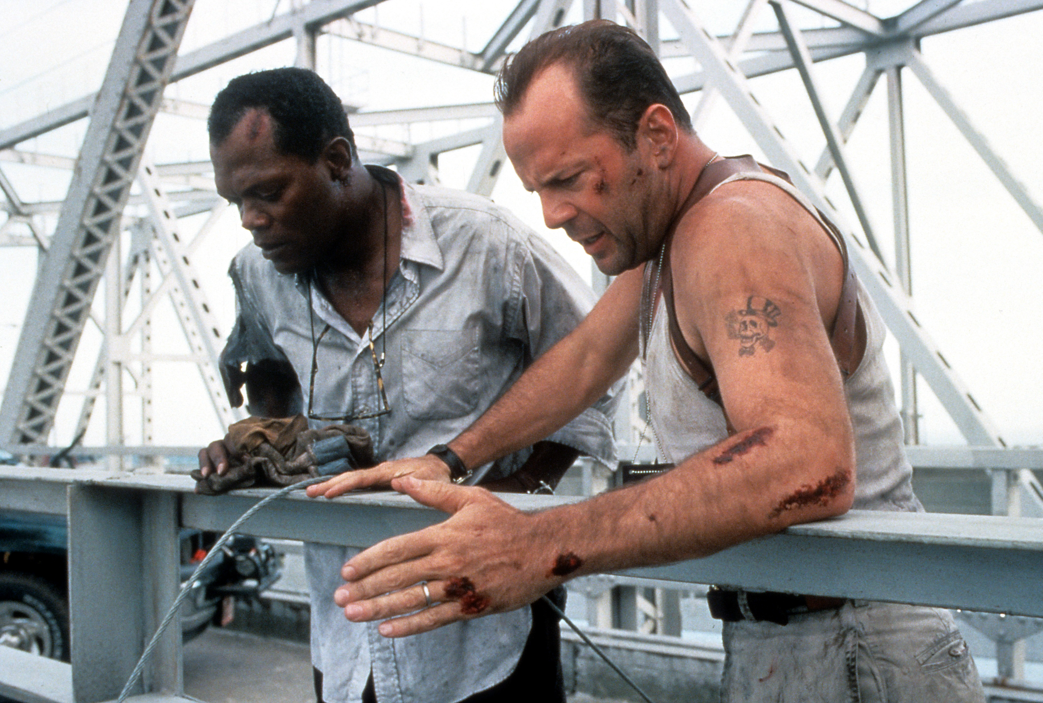 Samuel L. Jackson and Bruce Willis in Die Hard: With a Vengeance (1995)