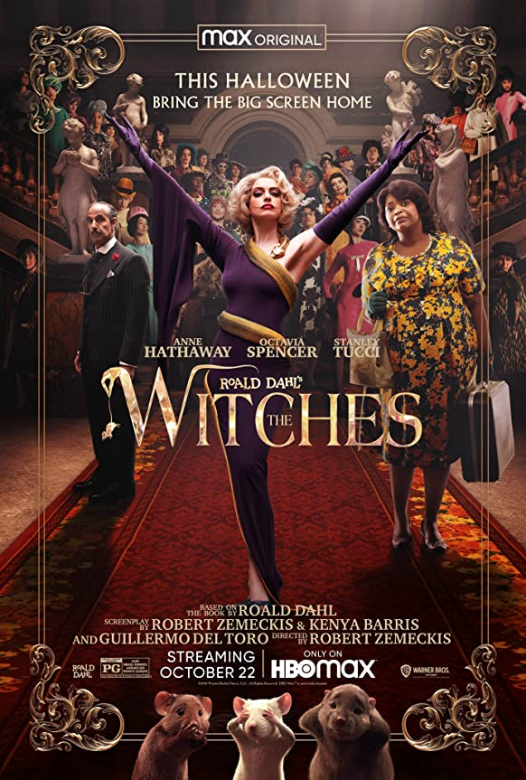 The Witches (2020) English 720p HEVC HDRip  x265 AAC ESubs [500MB] Full Movie Download