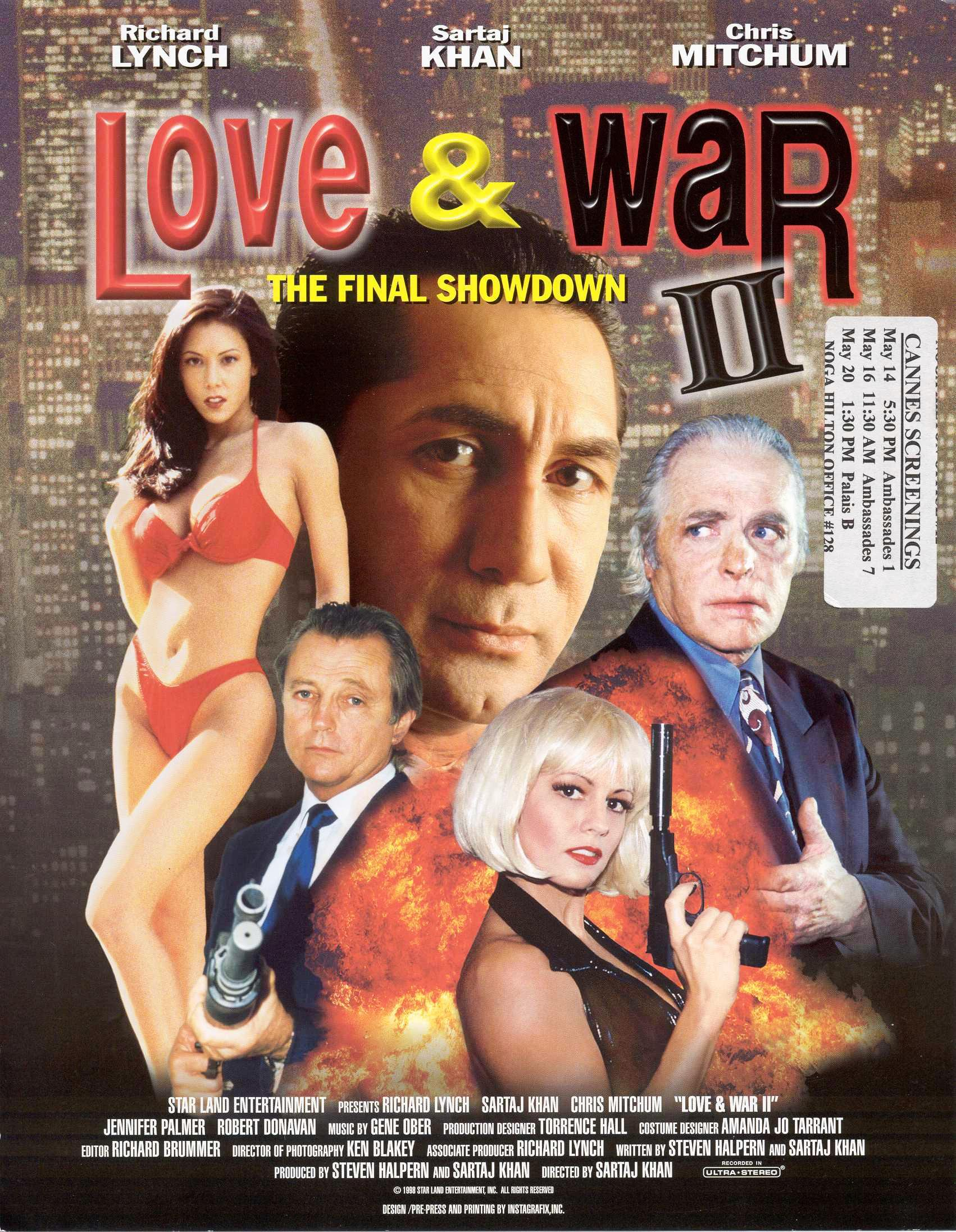 Love and War II (1998) UNRATED 480p DVDRip [Dual Audio] [Hindi – English ] AC3 x264