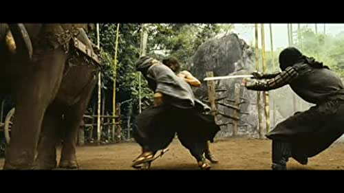 A clip from the movie Ong bak 2.
