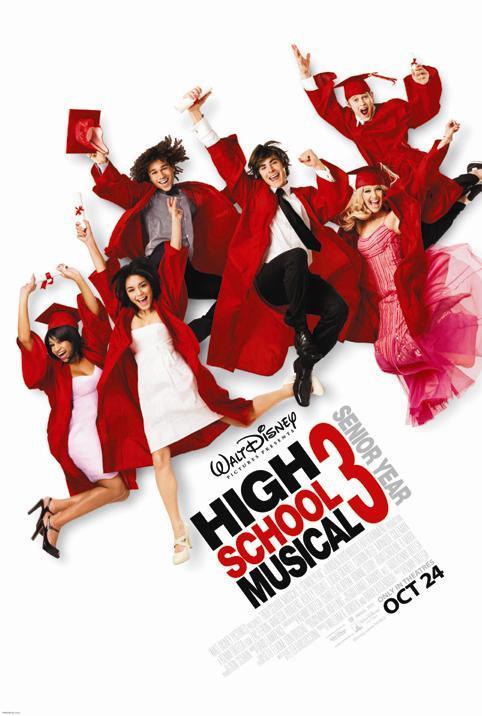 High School Musical 3: Senior Year (2008) มือถือไมค์ หัวใจปิ๊งรัก 3