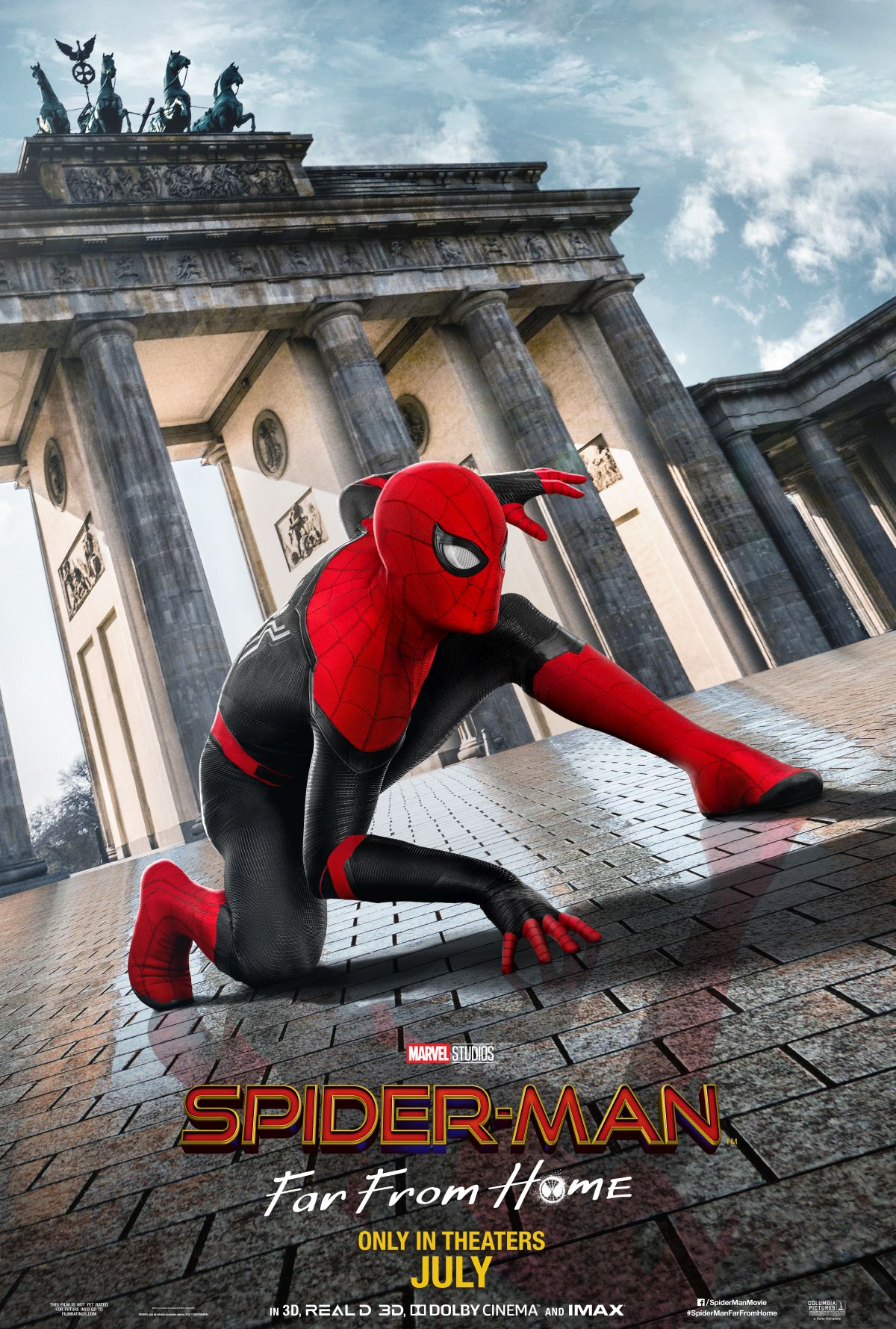 37 Spider Man Far From Home Wallpapers On Wallpapersafari