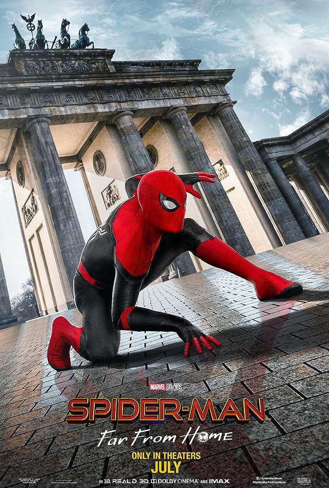 스파이더맨: 파 프롬 홈 포스터