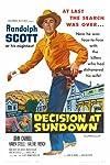 Decision at Sundown (1957)