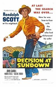 Decision at Sundown USA