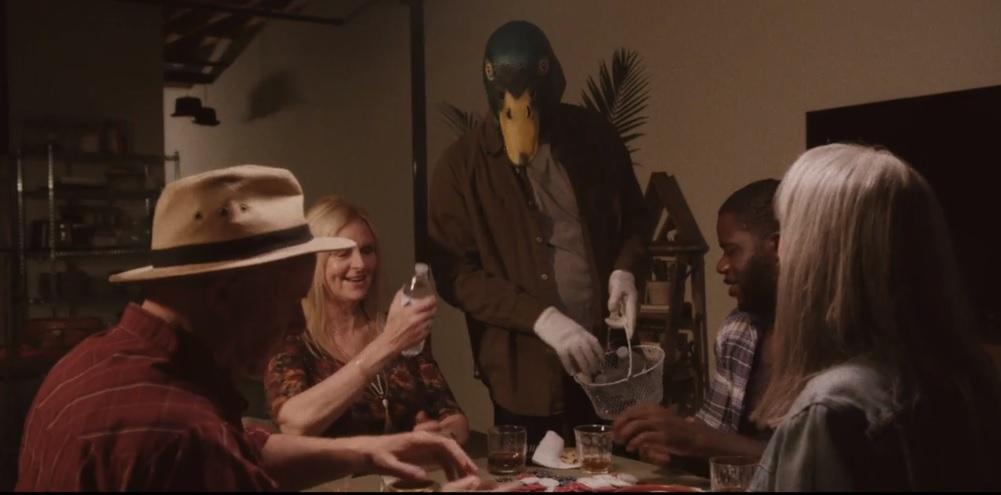 David Alan Graf, Marqus Bobesich, Susan Kohler, Jennifer Emett, and Neiko Neal in Duck World (2017)