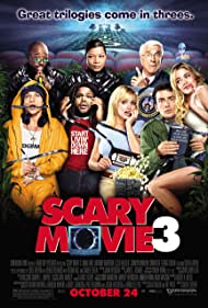 Charlie Sheen, Leslie Nielsen, Denise Richards, Queen Latifah, Simon Rex, Anthony Anderson, Anna Faris, and Eddie Griffin in Scary Movie 3 (2003)