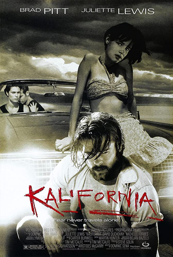 Brad Pitt, David Duchovny, Michelle Forbes, and Juliette Lewis in Kalifornia (1993)