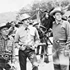 Ronald Reagan, Frank Puglia, and Zachary Scott in Stallion Road (1947)
