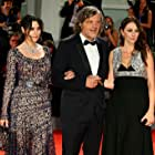 Monica Bellucci, Emir Kusturica, and Sloboda Micalovic at an event for On the Milky Road (2016)