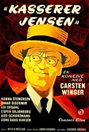 Kasserer Jensen Poster