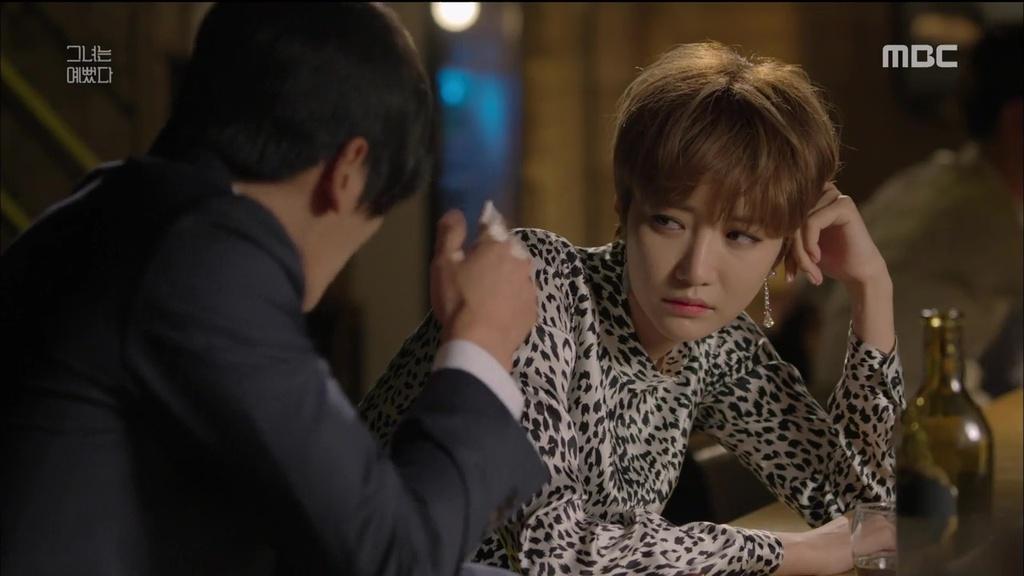 Jun-hee Ko and Seong-oh Kim in Geunyeoneun yeppeodda (2015)