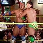 Rick Bognar and Dwayne Johnson in WWF Shotgun Saturday Night (1997)