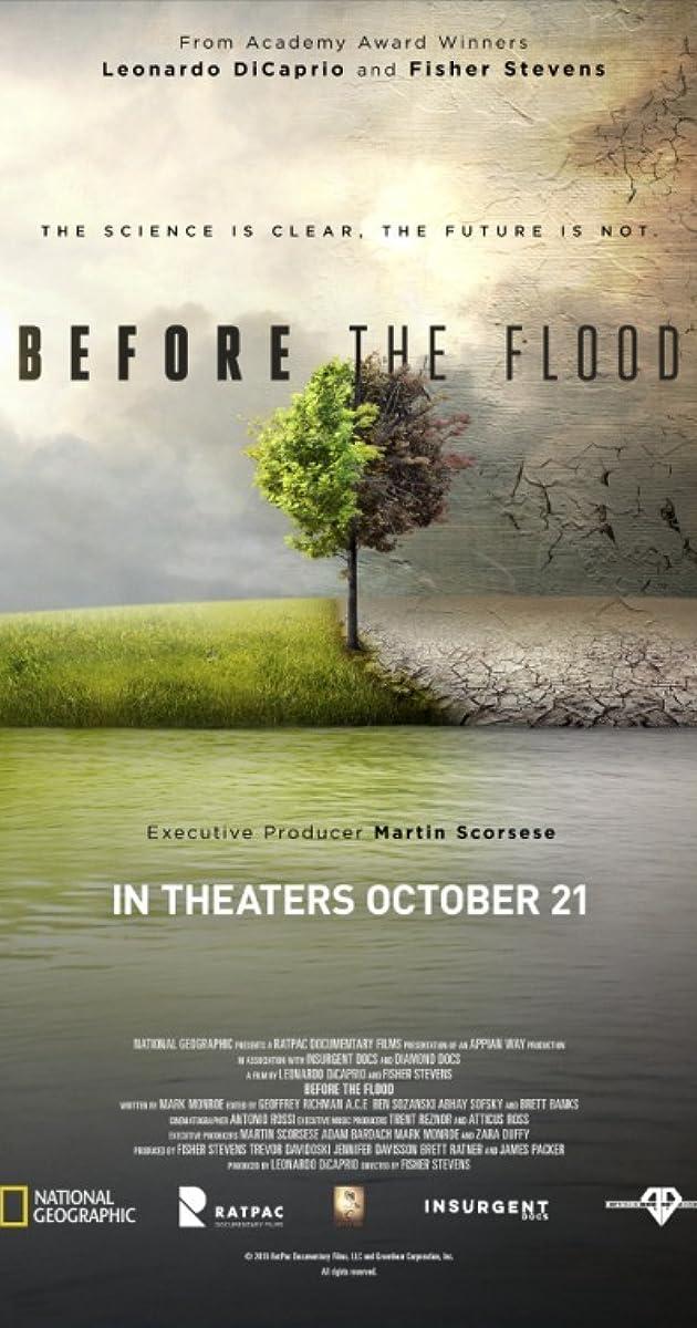 Image result for Leonardo dicaprio before the flood