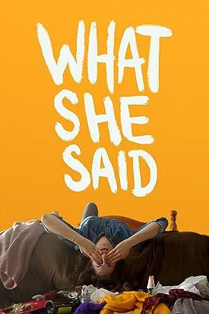 دانلود فیلم What She Said