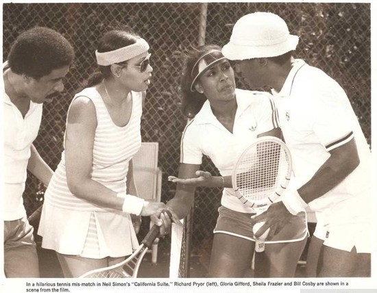 Still of Gloria Gifford, Richard Pryor, Bill Cosby and Sheila Frazier in California Suite