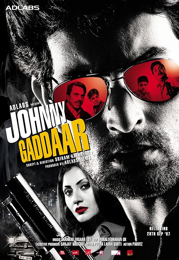 Johnny Gaddaar 2007 Hindi Movie 440MB HDRip ESub Download