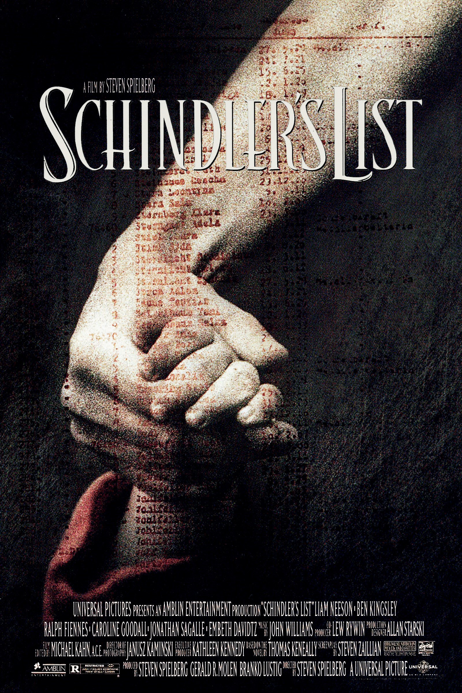 Schindler's List (1993) BluRay 480p, 720p & 1080p