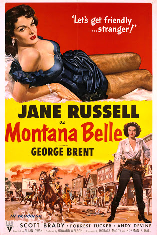 Jane Russell in Montana Belle (1952)