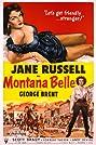 Montana Belle (1952) Poster