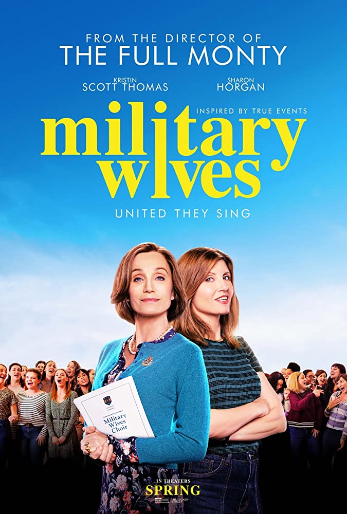 Kristin Scott Thomas and Sharon Horgan in Military Wives (2019)