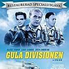Lars Ekborg, Hasse Ekman, and Sven Lindberg in Gula divisionen (1954)