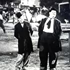 Oliver Hardy and Stan Laurel in Way Out West (1937)