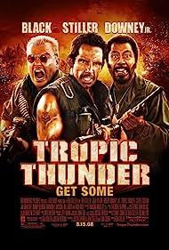 Robert Downey Jr., Ben Stiller, and Jack Black in Tropic Thunder (2008)