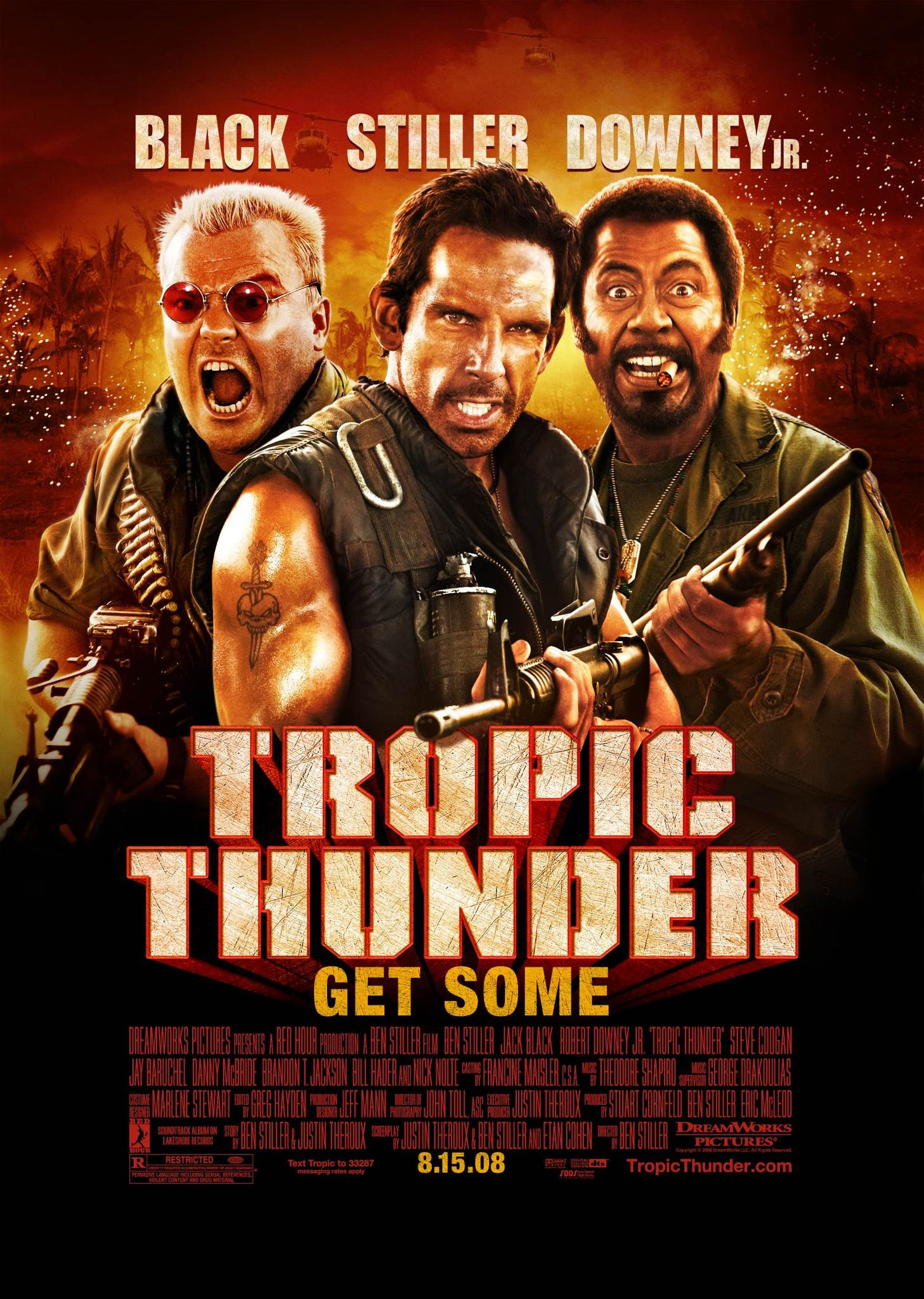 Tropic Thunder (2008) BluRay 720p & 1080p