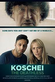 Michael Fenner, Chris Nayak, and Kate-Lois Elliott in Koschei the Deathless (2020)