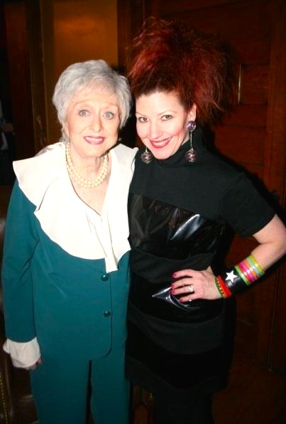 Celeste Holm & Suzy Brack | Actress in COLLEGE DEBTS (Image courtesy of Mark Rupp / Aaron Warr / Warr Brothers Productions)