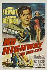 No Highway in the Sky Poster