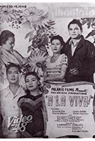 Fernando Poe, Patricia Mijares, Rosa Aguirre, and Carlos Padilla Sr. in A La Viva! (1948)