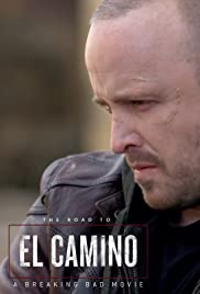 The Road to El Camino: A Breaking Bad Movie Poster