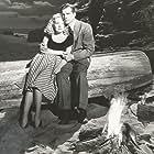 Dana Andrews and Alice Faye in Fallen Angel (1945)