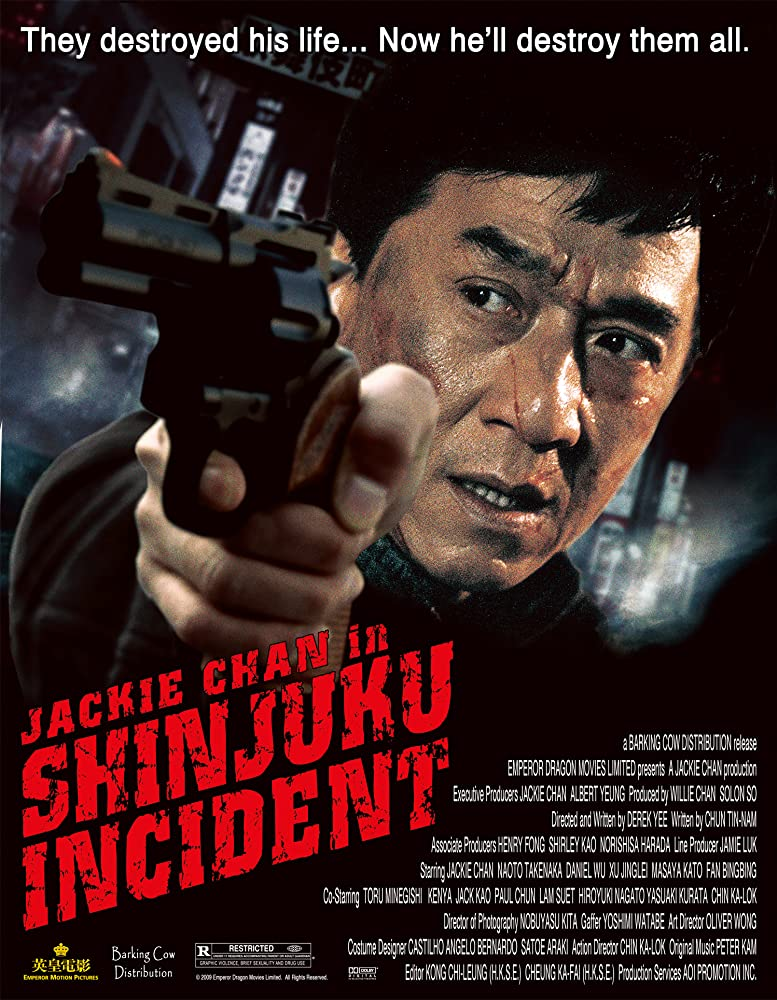 Shinjuku Incident (2009) Hindi Dubbed