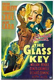 Alan Ladd, Veronica Lake, William Bendix, and Brian Donlevy in The Glass Key (1942)