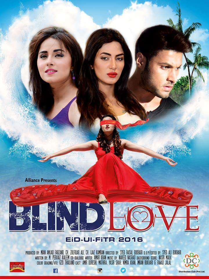 Blind Love 2016 Urdu HDTV x264 700MB Full Movie